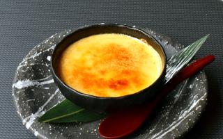 和三盆の豆乳ブリュレ